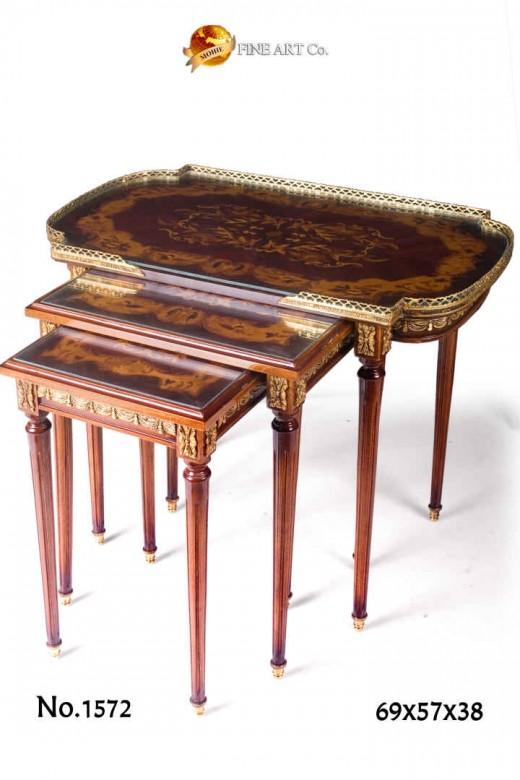 Nesting tables chelsea fine furnishings